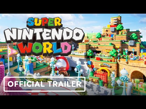 Super Nintendo World - Official Nintendo Theme Park Reveal Trailer   Universal Studio Japan