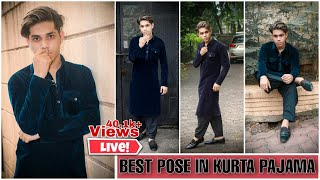 Best Pose In Kurta Pajama Easy Poses Photoshoot On Outdoor Location Yusuf Khan Youtube