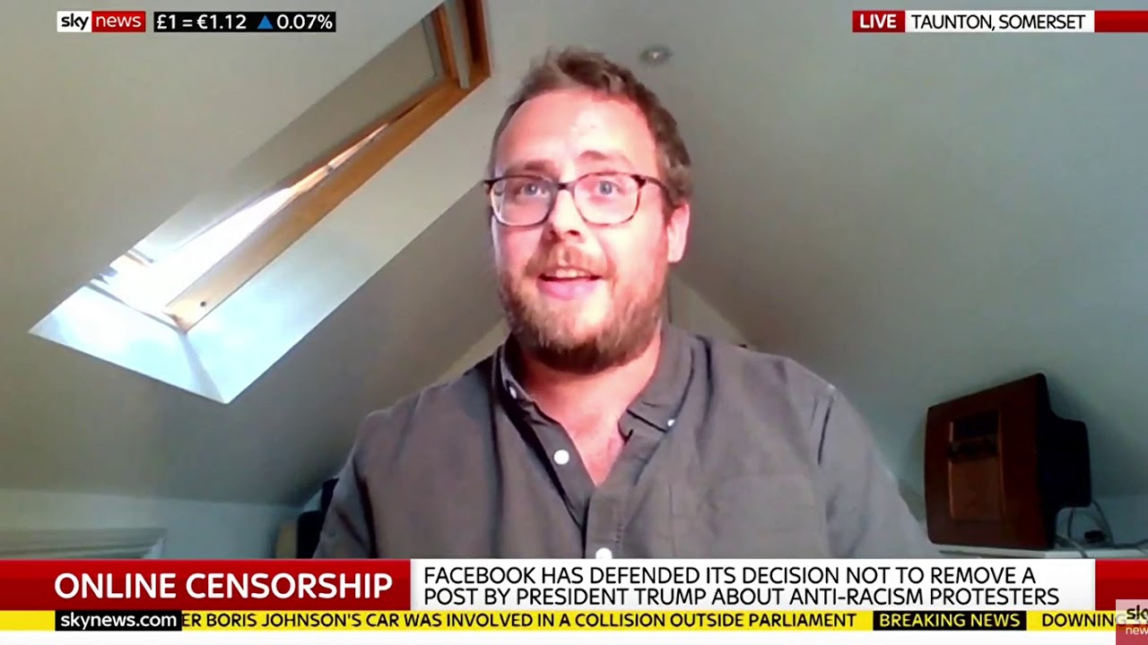 Our founder interviewed on Sky News with Colin Brazier