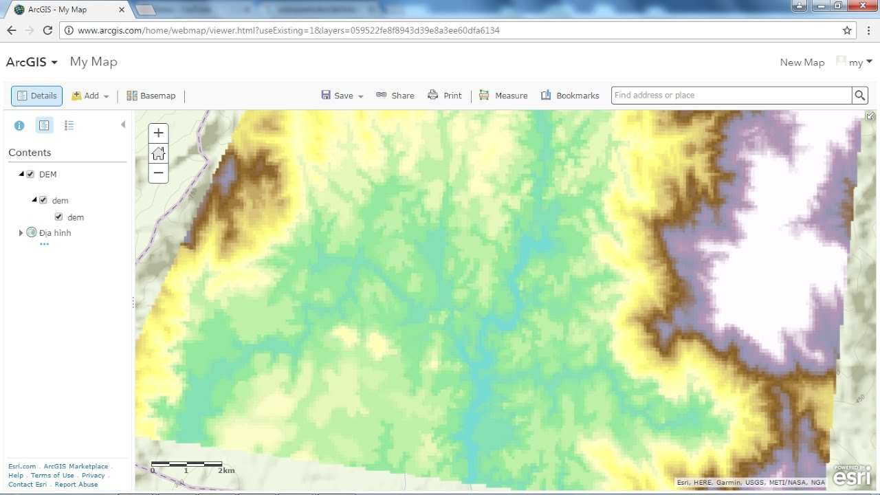 add raster to ArcGIS Online