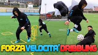 ⚽ FORZA vs VELOCITÀ vs DRIBBLING! Football Training w/Sg Soccer