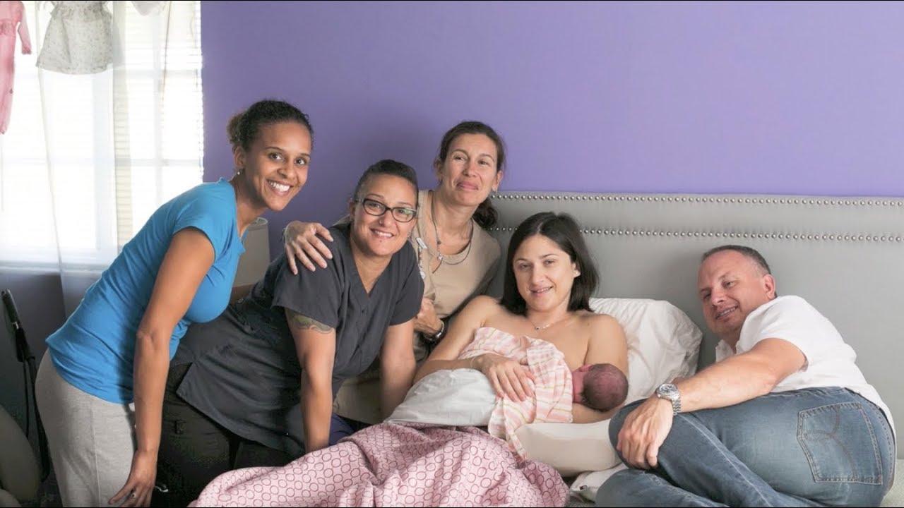 Как Ольга родила дочку 5,250 кг – дома, в ванной, без врача