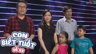 VÒNG ĐẶC BIỆT   CON BIẾT TUỐT   TẬP 63   17/04/2017   VTV GO