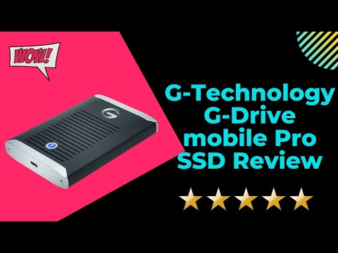 G-Technology G-Drive mobile Pro SSD Review