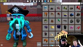 Pizza place - Roblox. Father and son playing Roblox! Family Sunday on Twitch! (Part 2)
