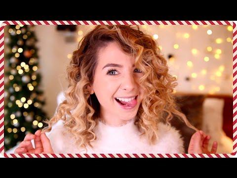 How To : Corkscrew 80's Curls | Zoella