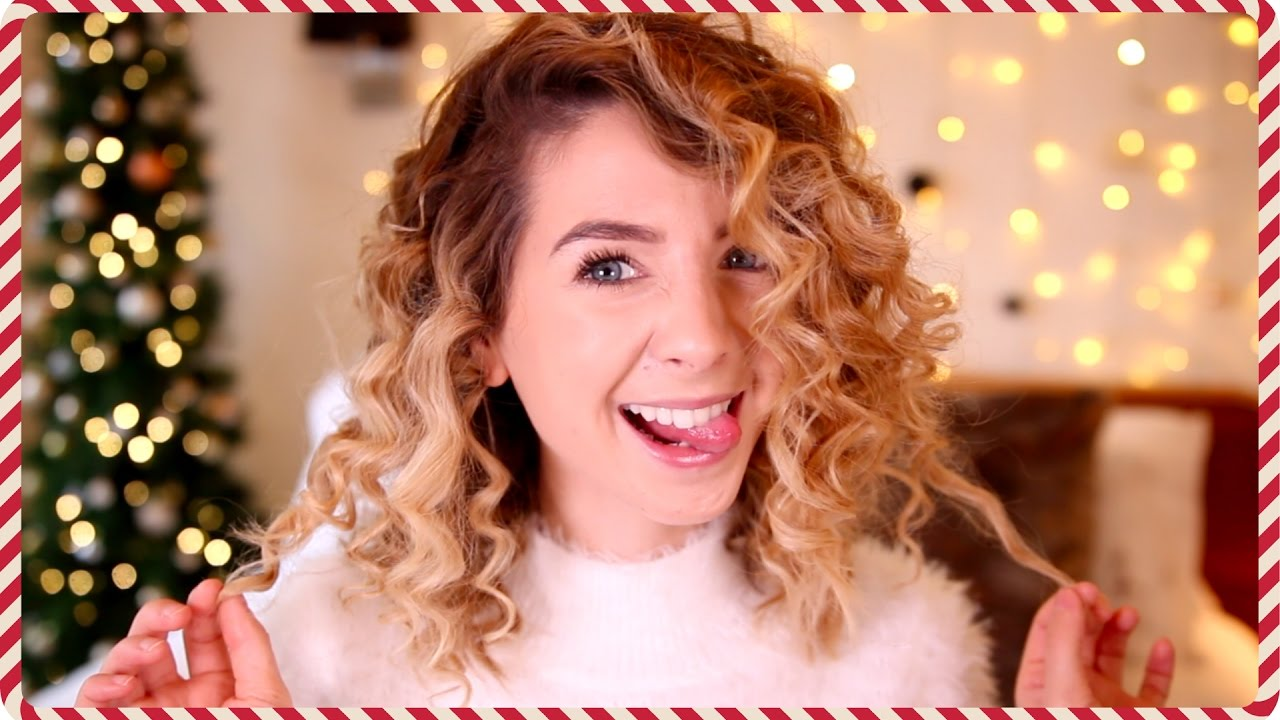 How To Corkscrew S Curls Zoella YouTube - Hairstyles for short hair zoella