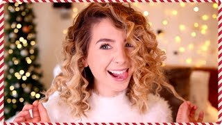 How To : Corkscrew 80's Curls | Zoella