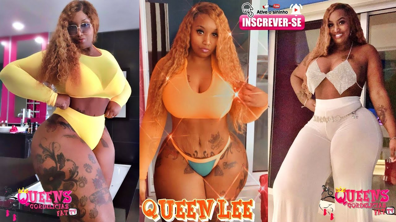 Download QUEEN LEE💄💋 MISS  AFRICAN👑 CURVY PLUS 👙💍,FRONT USA AND WORLDWIDE🎥#GORDELICIASFATTV📺