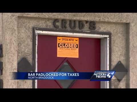 North Braddock bar padlocked
