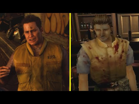 Resident Evil 3 Remake vs Original Early Graphics Comparison