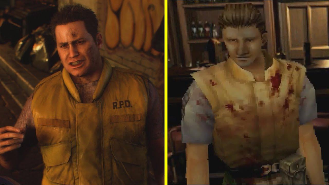 Resident Evil 3 Remake Vs Original Early Graphics Comparison Youtube