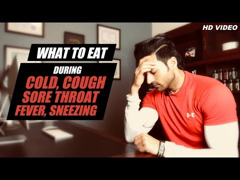 Can you eat ice cream while coughing