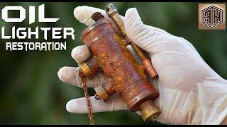 Rusty Handmade Steampunk Kerosene Oil Lighter - Impressive RESTORATION
