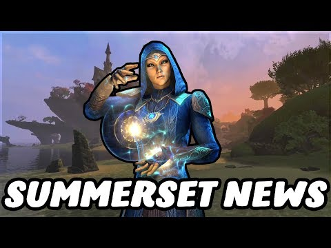Daily Log in Bonuses, Jewelry Crafting Stations, Crown Store Gifting- Update 18 News! (Summerset eso  