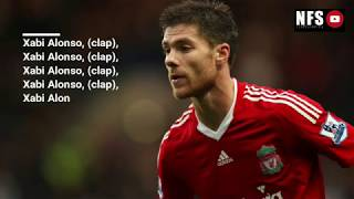 Liverpool Legend Songs and Chants with lyrics | Gerrard, Torres, Suarez, Alonso, Fowler, Dalglish