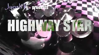 【Jyosh Cam】Highway Star - Deep Purple Cover with Purple Moon