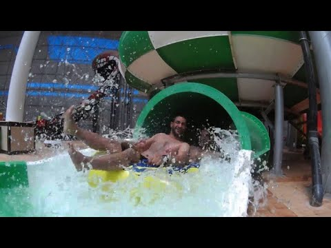 Iraq's largest indoor water park opens in Baghdad