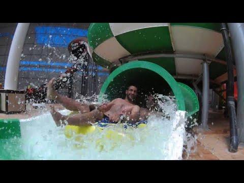 Iraq's largest indoor water park opens in Baghdad