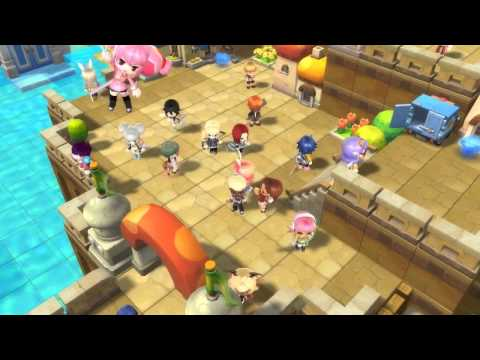 Maplestory 2 Official Gameplay Video HD