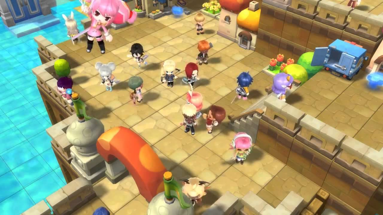 Maplestory 2 Official Gameplay Video HD - YouTube