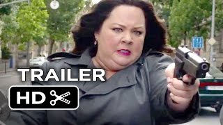 Spy Official Trailer #1 (2015) - Melissa McCarthy, Rose Byrne Comedy HD thumbnail