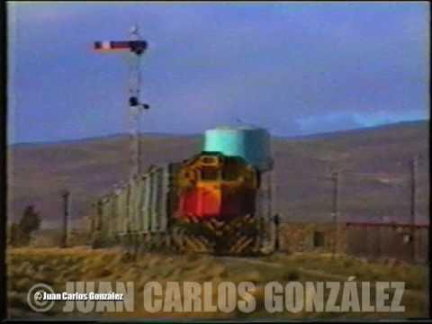 Tren Carguero en Pilcaniyeu