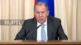 Russia  Lavrov says Democrats left political 'landmines' to sabotage future Russia US relations