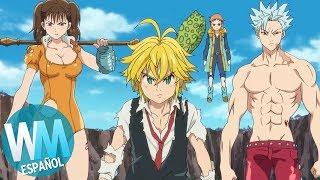¡Top 10 BATALLAS de EQUIPOS de Anime!
