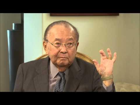 A 2011 interview with the late Senator Daniel Inouye of Hawaii