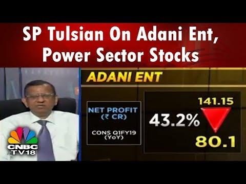 SP Tulsian Shares his Views On Adani Entertainment, Power Sector Stocks | CNBC TV18