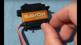 Arrma Typhon Servo Upgrade - How to Waterproof a Servo (Savox SA-1256TG) - Netcruzer RC
