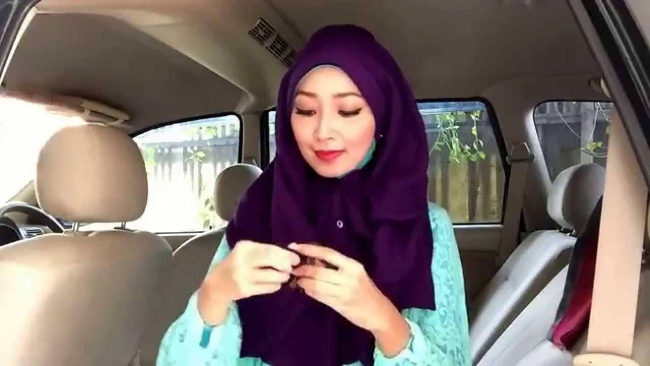 Easy Hijab Tutorial 30 Menyulap Kemeja Setali Menjadi Kerudung