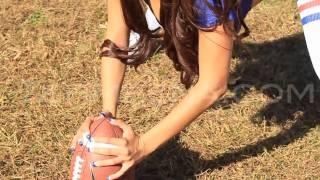 Tehmeena   Ms  Meena Sexy NY Giants Football