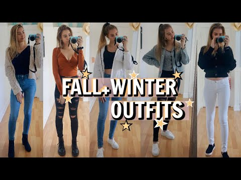[VIDEO] - cute FALL and WINTER OUTFIT IDEAS! *when you have nothing to wear* (fall/winter outfits lookbook) 8