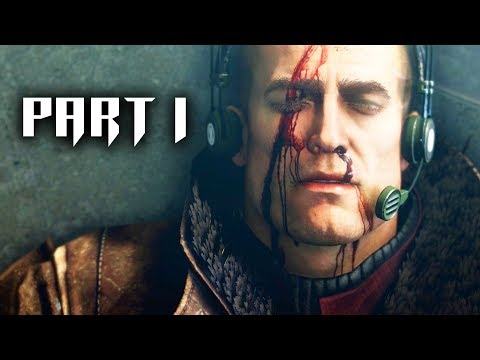 Wolfenstein 2 The New Colossus Walkthrough Part 1 - Intro (Full Game) Let's Play Playthrough