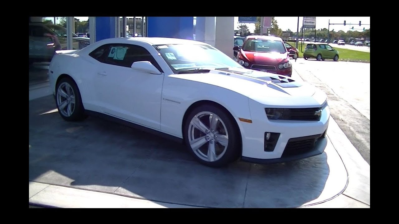 2013 Chevrolet Camaro Zl1 Coupe Youtube