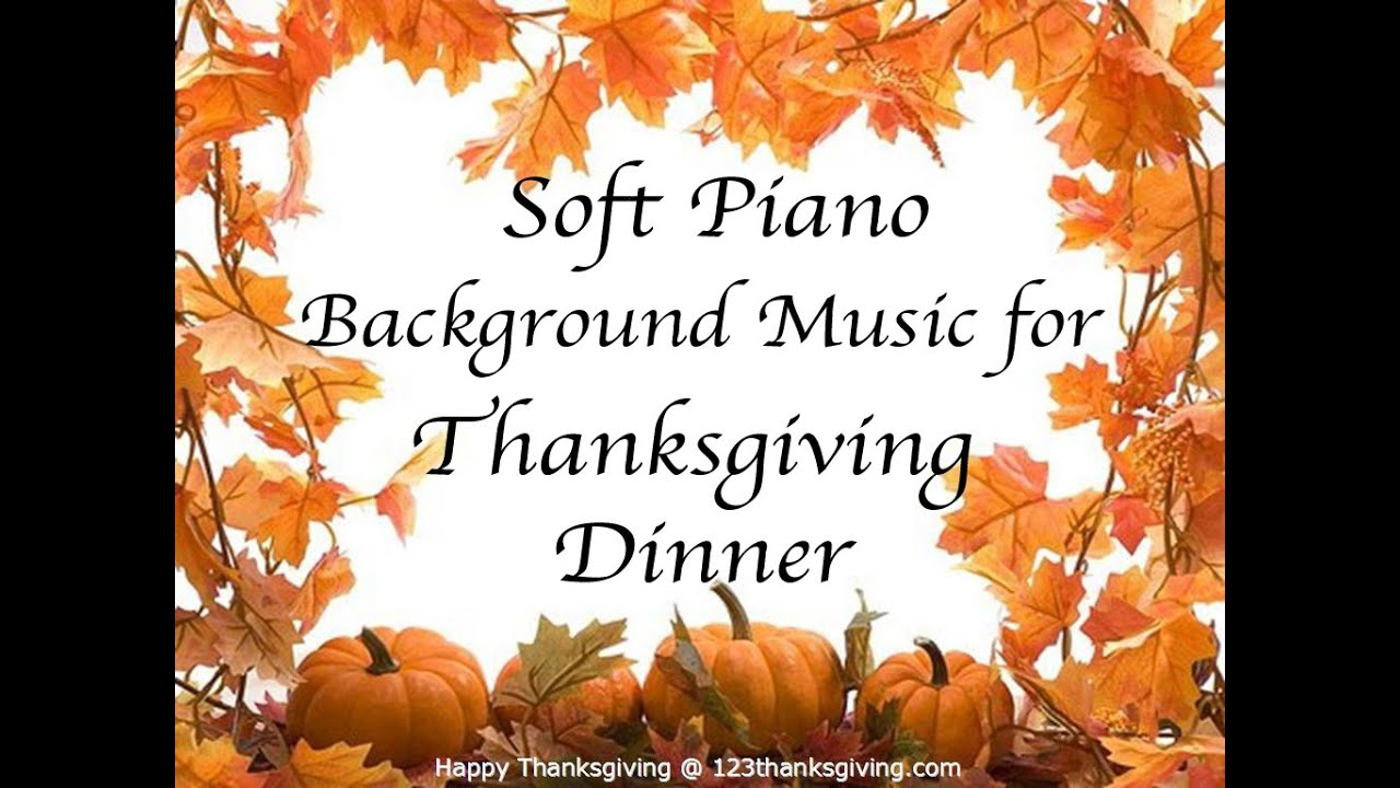 Music For Thanksgiving Dinner