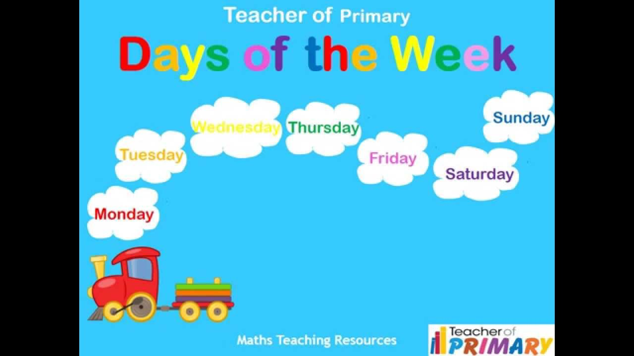 Days of the Week - Teaching Resource - YouTube