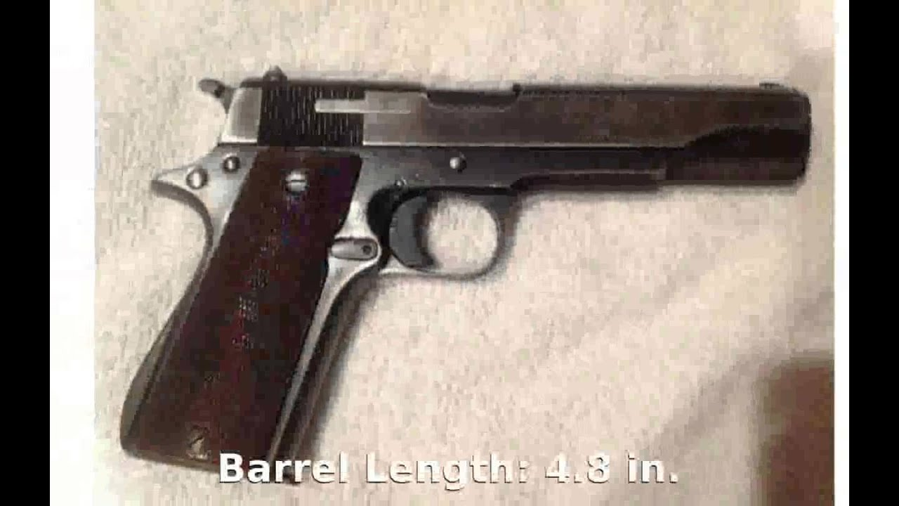 hight resolution of star model b 9mm luger pistol