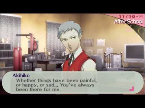Persona 3 Portable Minako Arisato and Akihiko Sanada ...