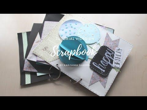 DIY: How to make the Cutest parachute Birthday Scrapbook  Card Idea   Easy Card Idea   Handmade Card