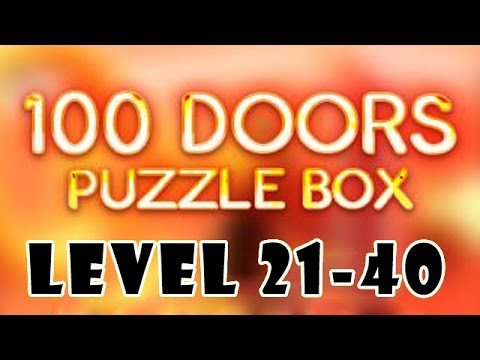 100 doors puzzle box level 21 40 walkthrough gameplay for Door 4 level 21