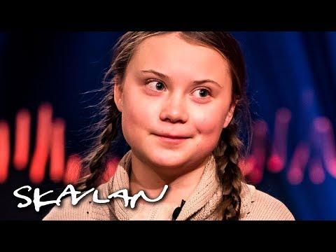 Climate Activist Greta Thunberg (16) Says Her Asperger's Has Helped | SVT/TV 2/Skavlan