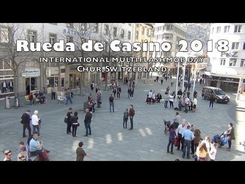 Rueda de Casino 2018 ⎜ Flashmob Chur, Switzerland