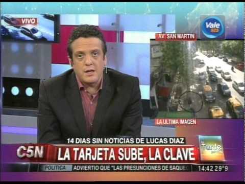 C5N -  SOCIEDAD: 14 DIAS SIN RASTROS DE LUCAS DIAZ