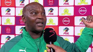Absa Premiership | Mamelodi Sundowns v Bidvest Wits | Post-match interview with Pitso Mosimane