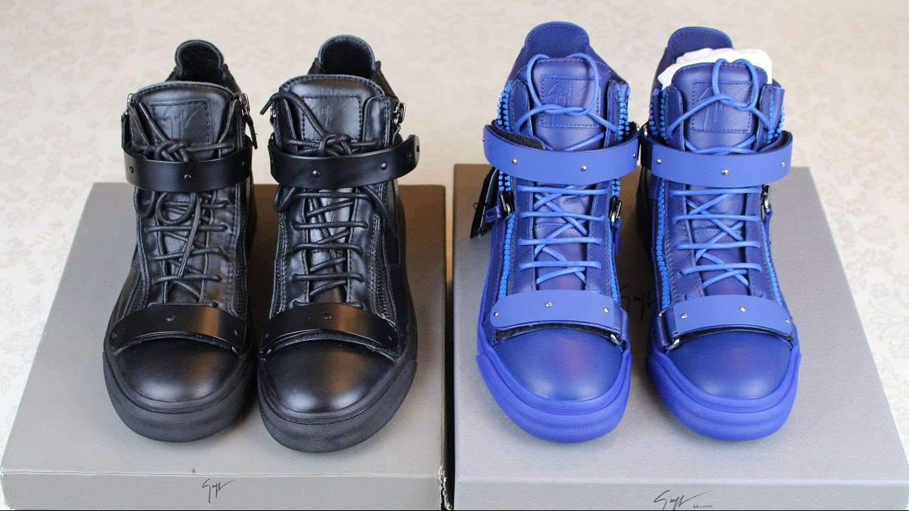 b6fb4b87485ff How To Spot Fake Giuseppe Zanotti Sneakers | Authentic vs Replica Giuseppe  Zanotti - YouTube