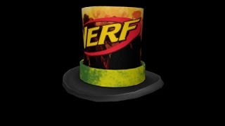 Comment obtenir NERF Top Hat (fr) MeepCity - France ROBLOX [EVENT]