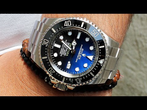 Rolex Deepsea Sea-Dweller D-Blue 116660 Luxury Watch – James Cameron Edition